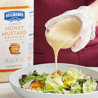 Hellmann's 1 Gallon Honey Mustard Dressing - 4/Case