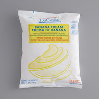 LeGout 24 oz. Banana Cream Instant Pudding - 12/Case