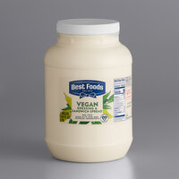 Best Foods 1 Gallon Vegan Mayonnaise Spread - 4/Case