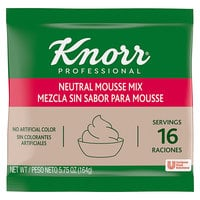 Knorr 5.75 oz. Neutral Mousse Mix - 10/Case