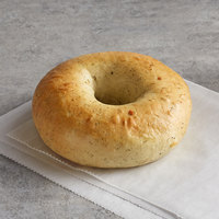 Original Bagel 4.5 oz. New York Style Spinach Bagel - 75/Case