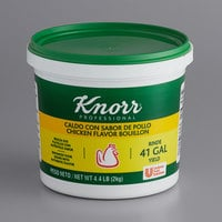 Knorr 4.4 lb. Caldo de Pollo / Chicken Bouillon Base - 4/Case