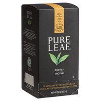 Pure Leaf Organic Chai Pyramid Tea Sachets - 25/Box