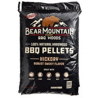 Bear Mountain 100% Natural Hardwood Hickory BBQ Pellets - 20 lb.