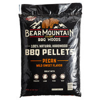 Bear Mountain 100% Natural Hardwood Pecan BBQ Pellets - 20 lb.