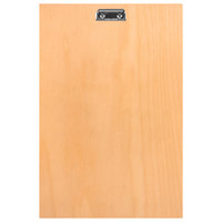 H. Risch BIRCH-MBCLIP 11 inch x 17 inch Birch Menu Board with Clip