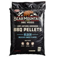 Bear Mountain 100% Natural Hardwood Alder BBQ Pellets - 20 lb.