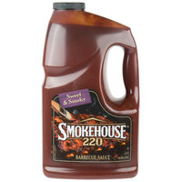 Smokehouse 220 1 Gallon Sweet and Smoky Barbecue Sauce - 4/Case