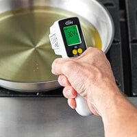CDN INTP662 ProAccurate HACCP Digital Laser Infrared Thermometer with Folding Thermocouple Probe
