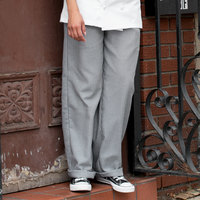 Uncommon Threads 4001 Unisex Houndstooth Customizable Classic Chef Pants - L