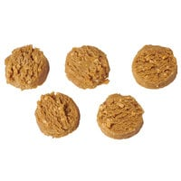 Rich's Jacqueline 1.5 oz. Preformed Vegan Peanut Butter Cookie Dough - 210/Case
