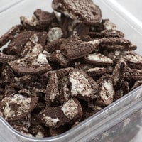 Joy Chopped Cookies and Creme Ice Cream Topping - 30 lb.