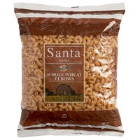 1 lb. Bag Whole Wheat Elbow Macaroni Pasta - 20/Case