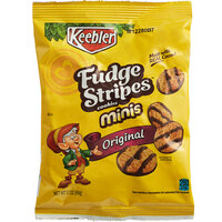 Keebler 2 oz. Mini Fudge Stripes™ Snack Pack - 60/Case