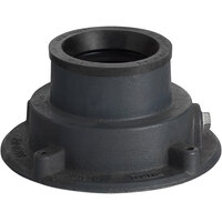 Zurn P415-4NL Cast Iron Floor Drain Body with 4 inch Neo-Loc Outlet for Z415 Series Drains