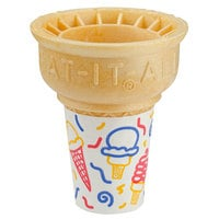 Keebler Eat-It-All® 34SJ Jacketed Cake Cup Sleeve   - 600/Case
