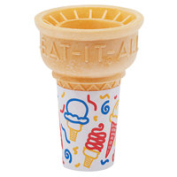 Keebler Eat-It-All® 34DJ Jacketed Cake Cup for Dispenser   - 600/Case