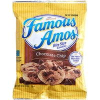 Famous Amos® 2 oz. Chocolate Chip Cookie Snack Pack - 60/Case