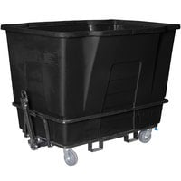Toter AMT20-00BLK 2 Cubic Yard Black Towable Universal Mobile Truck (2300 lb. Capacity)