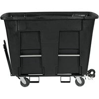 Toter AMT10-00BKS 1 Cubic Yard Black Towable Universal Mobile Truck (1000 lb. Capacity)