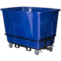 Toter AMT20-00BLU 2 Cubic Yard Blue Towable Universal Mobile Truck (2300 lb. Capacity)