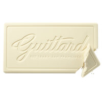 Guittard 10 lb. High Sierra 28% White Baking Bar