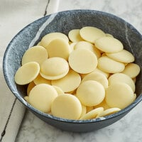 Guittard 6.6 lb. Soie Blanche 35% White Cocoa Butter Wafers