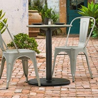 Lancaster Table & Seating Millennium 22 inch Round 3 inch Table Height Column Outdoor Table Base