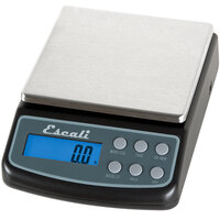 San Jamar / Escali L600 Maximum Precision 600 Gram Digital Portion Control Kitchen Scale