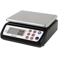 San Jamar / Escali SCDG33BK 33 lb. Digital Portion Control Kitchen Scale