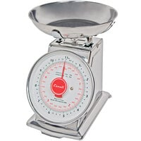 San Jamar / Escali SCDLB11 Mercado 11 lb. Mechanical Dial Portion Control Kitchen Scale