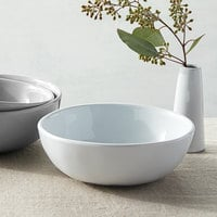American Metalcraft CBL24CL Crave 24 oz. Cloud Melamine Bowl