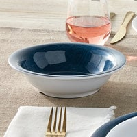 American Metalcraft DBN16DN Jane Casual 16 oz. Denim Narrow Rim Melamine Bowl