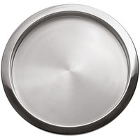 Oneida 88004513A Stiletto 14 inch Round Brushed Stainless Steel Tray