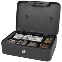 Royal Sovereign RSCB-200 Cash and Change Steel Security Box with Key Lock