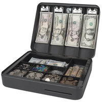 Royal Sovereign RSCB-300 Deluxe Cash and Change Steel Security Box with Key Lock