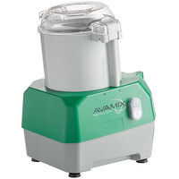 Avamix Revolution BFP34GY Commercial Food Processor with 3 qt. Gray Plastic Bowl - 120V, 1 hp
