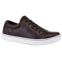 MOZO M39936 Finn Men's Size 11 1/2 Medium Width Brown Water-Resistant Soft Toe Non-Slip Casual Shoe