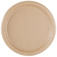 solut 10 14 inch coated kraft paper plate 400case