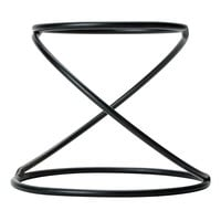American Metalcraft LWUS779 Black Swirl Pizza Stand