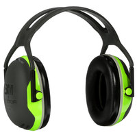 3M X4A PELTOR™ X4 Black / Chartreuse Over-the-Head Earmuffs