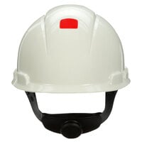 3M H-701RUV White 4-Point Ratchet Suspension Hard Hat with UVicator