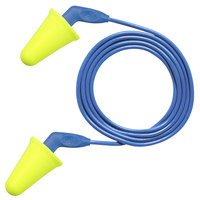 3M 318-4001 E-A-R™ Push-Ins™ SofTouch™ Yellow / Blue Corded Foam Earplugs - 200/Pack