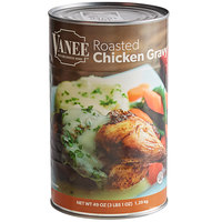 Vanee 550VD 49 oz. Can Roasted Chicken Gravy - 12/Case