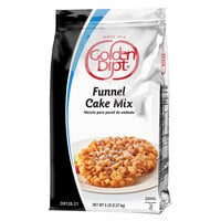 Golden Dipt 5 lb. Funnel Cake Mix - 6/Case
