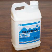 Sierra by Noble Chemical 2.5 gallon / 320 oz. Fast Drying Floor Finish   - 2/Case