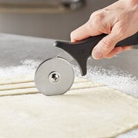 Ateco 1322 2 1/2 inch Stainless Steel Pastry Cutter with Polypropylene Handle