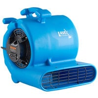 Lavex Janitorial 2-Speed Compact Air Mover with GFCI Power Outlets - 1/3 hp
