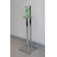 Advance Tabco SST-36 Aluminum 36 inch Tall Sanitizer Dispenser Stand