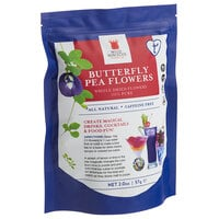 Wild Hibiscus Whole Dried Butterfly Pea Flowers 2 oz. Bag